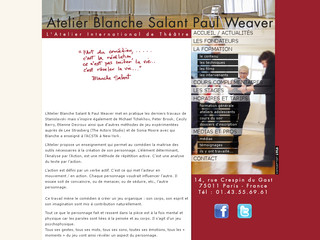 Détails : Atelier International de Theatre Blanche Salant et Paul Weaver