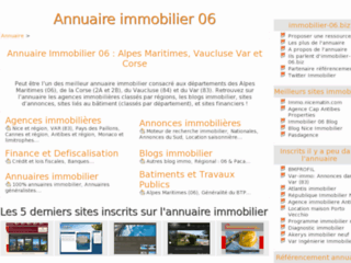 Annuaire immobilier 06/83