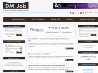 Détails : Emploi Diagnostic Medical