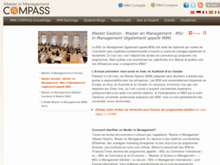 Master in Management Compass