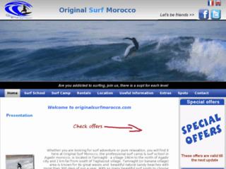 Détails : Surfing in Morocco with surf school and surf camp - Original surf Morocco