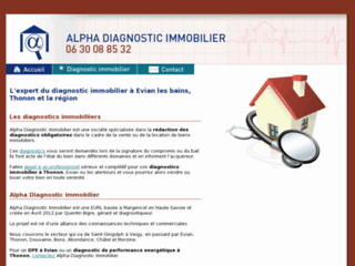 Détails : Alpha Diagnostic Immobilier
