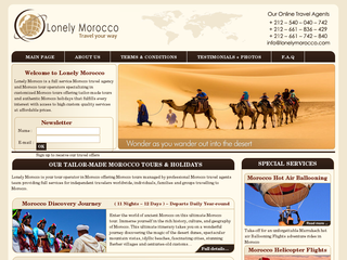 Détails : Morocco Travel Agency