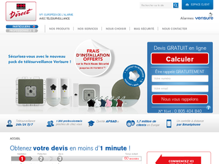 Détails : Alarme Securitas Direct - Securitas Direct