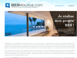 RES à Maurice