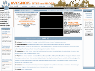Détails : aVesnois site and blog