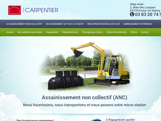Détails : Assainissement Nancy | Carpentier Assainissement
