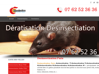 Détails : desinsectiation paris
