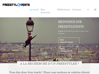 Détails : Freestylevents, spectacles de freestyle foot
