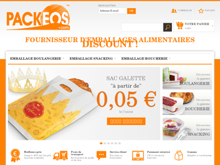 Détails : emballage alimentaire packeos