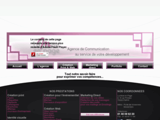 Création graphique, impression, sites web.