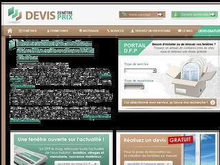 Devis fen tre installation pose et r novation for Devis pose fenetre
