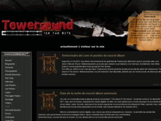Détails : 1er site des fans du groupe d'Heavy Metal Symphonique & de balades rock Towersound !
