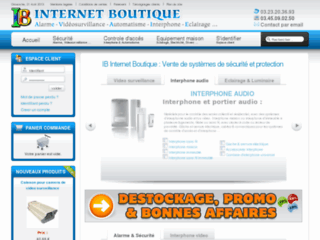 IB Internet Boutique : Video surveillance, alarme, interphone, eclairage