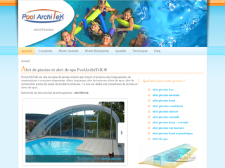 PoolarchiTeK, abri de piscine