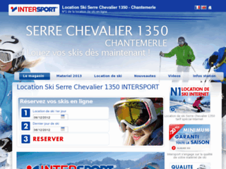Détails : Intersport magasin de sport serre chevalier