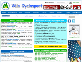 Vélo Cyclosport Passion