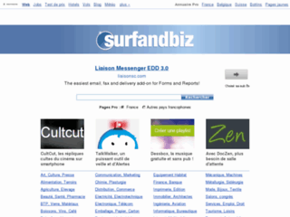Surfandbiz Annuaire de sites professionels