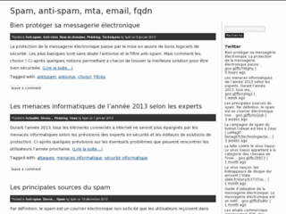 Détails : Configurer vote anti spam fqdn