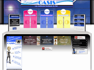 Le Grand Oasis - Centre Commercial Virtuel
