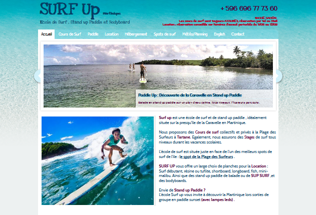 Détails : Surf up Martinique